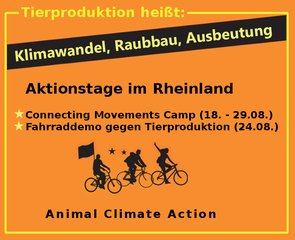 Radtour Animal Climate Action