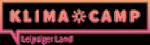 Klimacamp im Leipziger Land